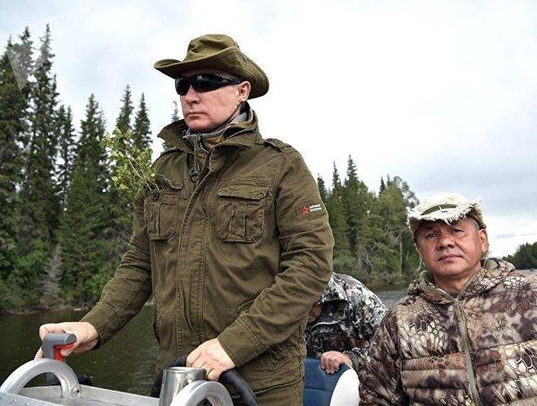 Подскажите, а что за веточки у Путина в кармане были на рыбалке? Путин, рыбалка, веточки, вопрос к знатокам, видео, длиннопост