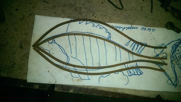 Рыба.Подвесная композиция. Ресайкл-арт. рукоделие с процессом, Рыба, композиция, арт, рыбалка, фигура, сварка, видео, длиннопост