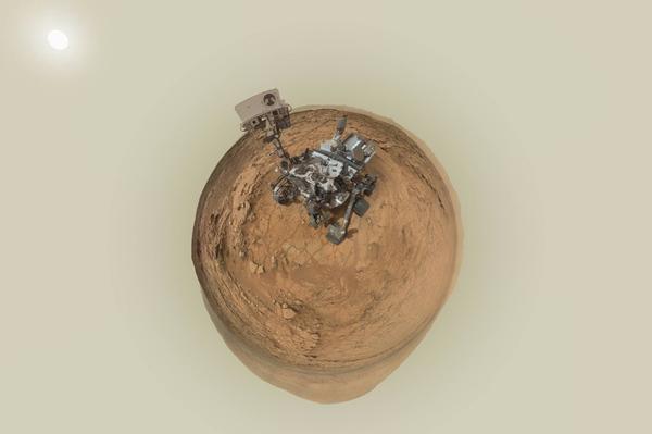 Пять лет на Марсе geektimes, Копипаста, марс, космос, Марсоход, Curiosity, MSL, новости, гифка, длиннопост