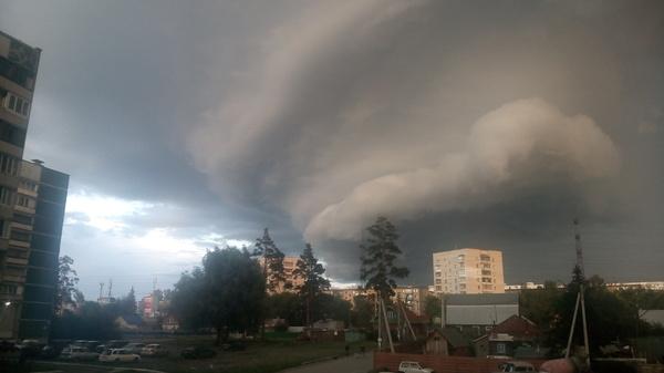 Новосиб, академ, прячьтесь! Погода, Тучи, Новосибирск