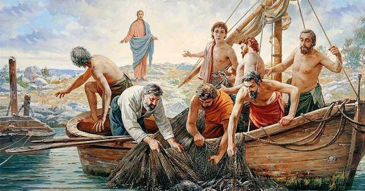 картинки как я рыбачил апостол андрей самой кончиной