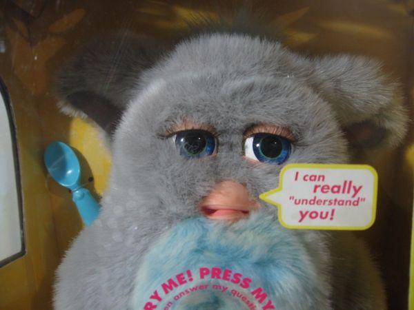 Только ты можешь понять меня. игрушки, furby, мягкая игрушка, безысходность, страдания