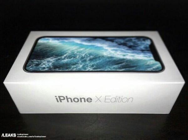 В сети появилась фотография коробки нового Iphone x Edition. А презентуют его 6 сентября.