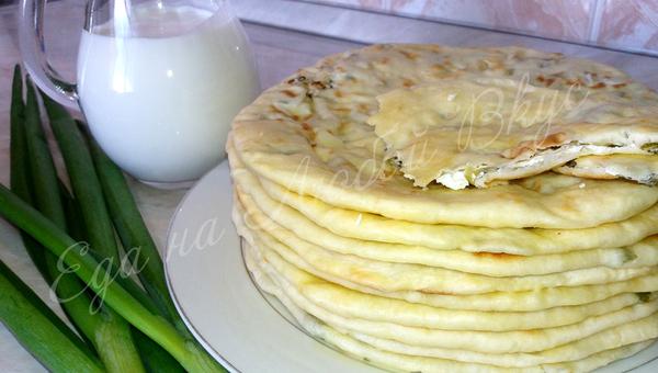 Лепешки с творогом и зеленым луком - вкусные Чепалгаш лепешки, кулинария, еда, еда на любой вкус, на скорую руку, что приготовить, вкусно, рецепт, видео