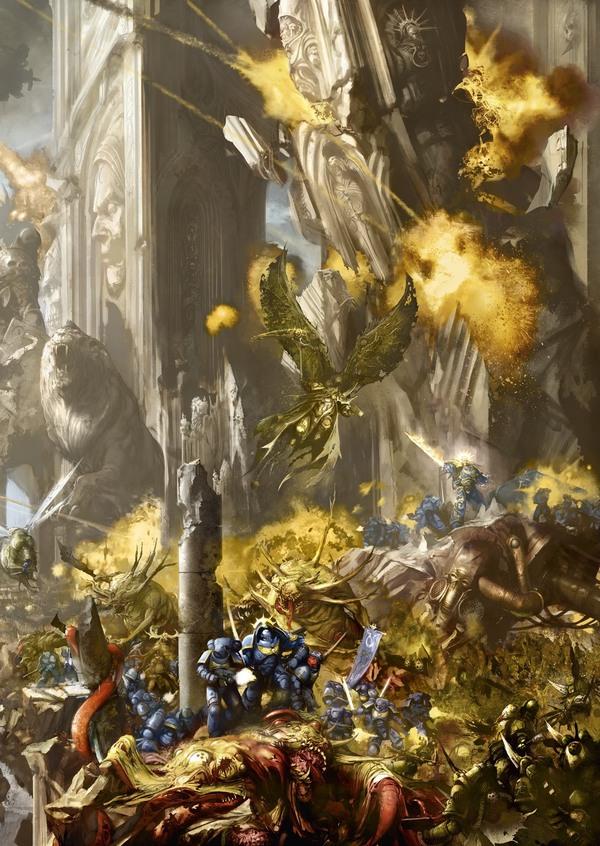 Гвардия Смерти и Дети Императора - перевод из Индекс: Хаос Warhammer 40k, wh back, Death Guard, Emperor`s Children, длиннопост