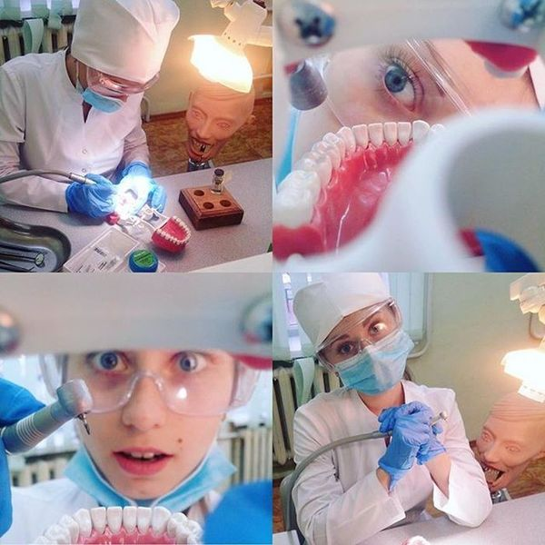 Будни студента-стоматолога стоматология, студенты, длиннопост