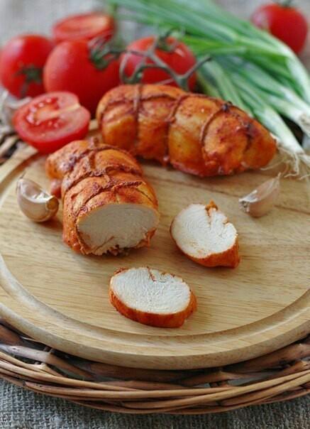 Куриная пастрома рулет, курица, кулинария, рецепт, еда