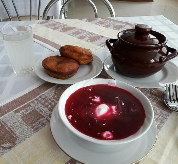 Столовая на белорусском заводе. столовая, вкусная), еда, Беларусь, длиннопост