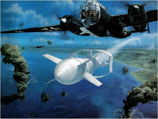 FX-1400 (Fritz-X). Необычное оружие ч.6 Длиннопост, Оружейная лига, Редкое и необычное оружие, Видео