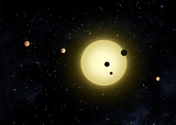 У ближайшего «близнеца» Солнца нашли четыре экзопланеты наука, новости, астрономия, Тау Кита, планета