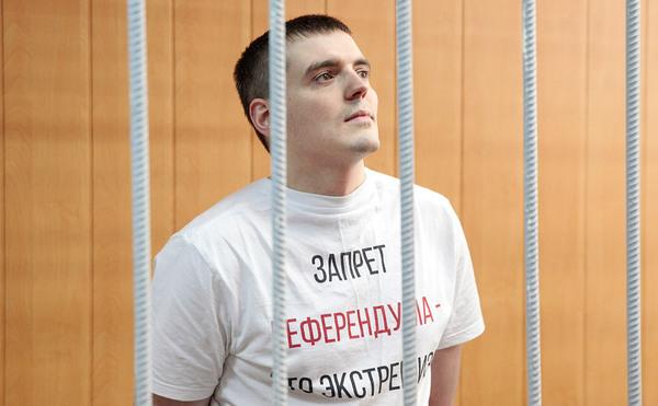 Журналиста Соколова, призывавшего оценивать народных избранников, осудили на 3,5 года Политика, Копипаста, несправедливость