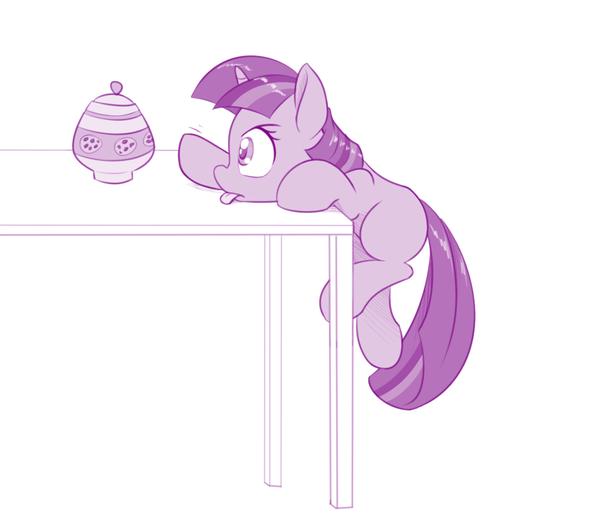 Некоторые привычки не меняются. my little pony, Twilight Sparkle
