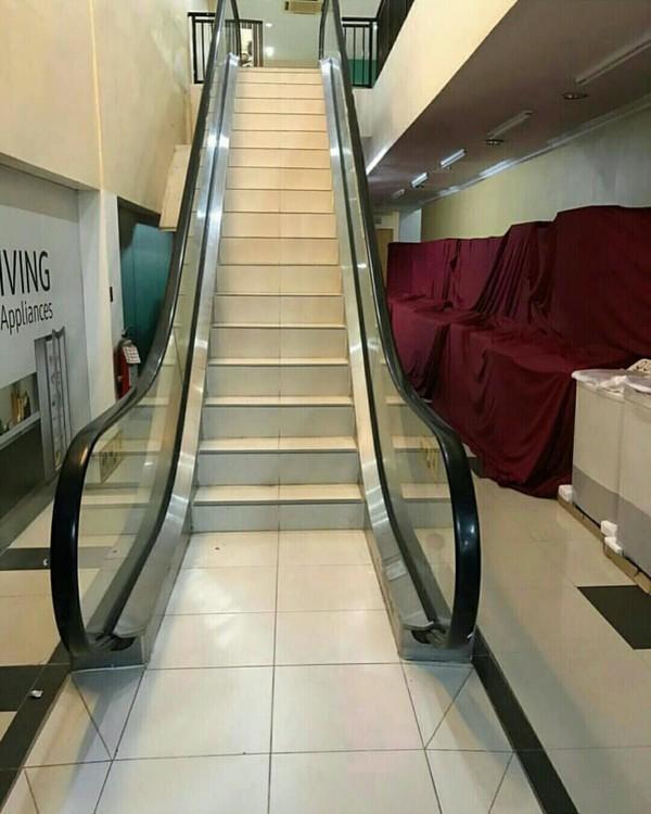 Эскалатор в Фитнес - Центр