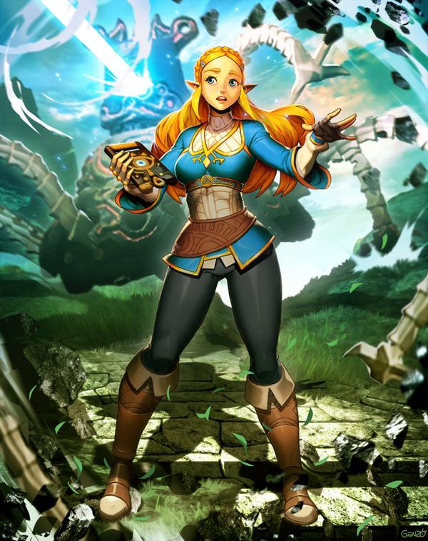Почему у этого пацана девчачье имя или играем в Дыхание Дичи на ПК Zelda breath of the wild, Zelda, The Legend of Zelda, лига геймеров, сделай сам, Wii U, CEMU, pc master race, длиннопост