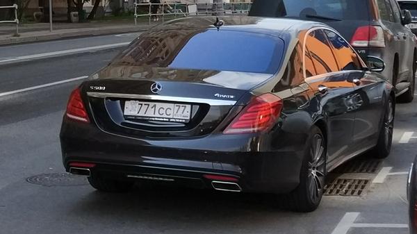 Слишком богат, чтобы оплачивать штрафы и парковку парковка, номер машины, быдло, Царь, Mercedes