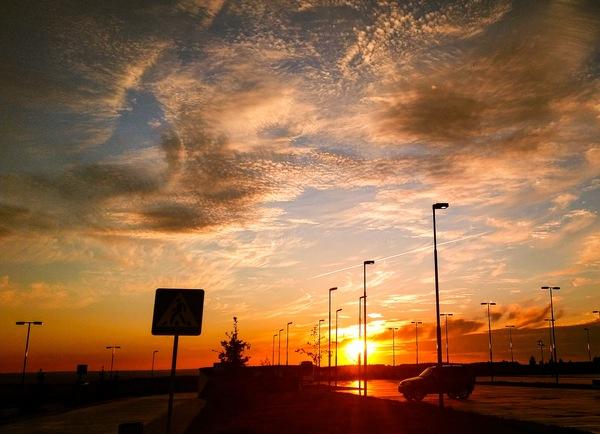 Закат в Иннополисе. Татарстан. закат, Иннополис, Татарстан, фотография, длиннопост