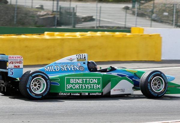 Шумахер-младший тестирует чемпионский болид отца. формула 1, болид, автоспорт, спорт, авто, фотография, шумахер, ностальгия