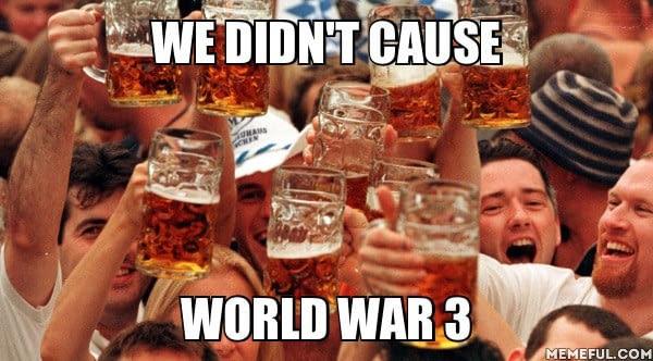 Немцы, если Северная Корея запустит  ядерное оружие 9gag, юмор, немцы, северная корея