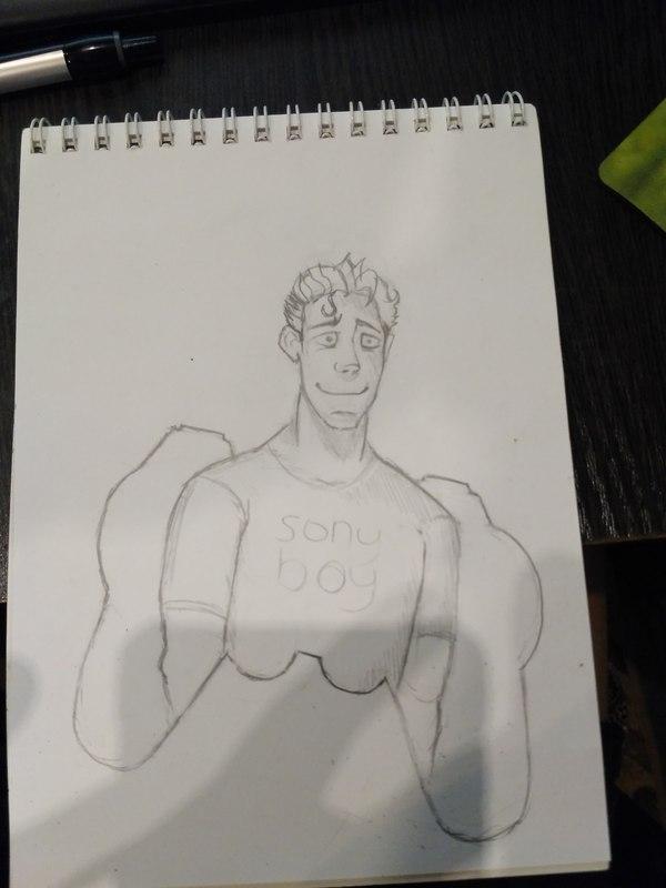 Учусь рисовать в SAI  (часть 2) рисунок, рисунок карандашом, стикеры, творчество, арт, цифровой рисунок, Художник, рисунок мышкой, длиннопост