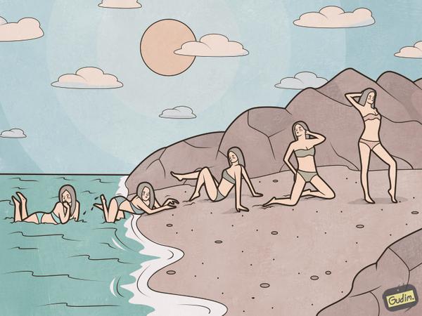 Пляжная эволюция