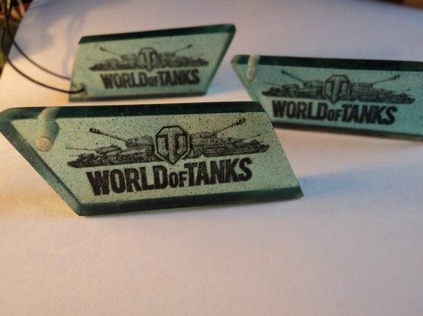Подвеска в стиле World of Tanks кулон, World of Tanks, подвеска на шею, танки
