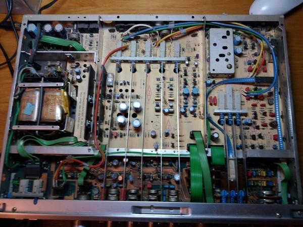 """Ремонт предварительного усилителя """"GRUNDIG VX 7500"""" ремонт электроники, самара, предварительный усилитель, Folk Audio Custom, длиннопост"""