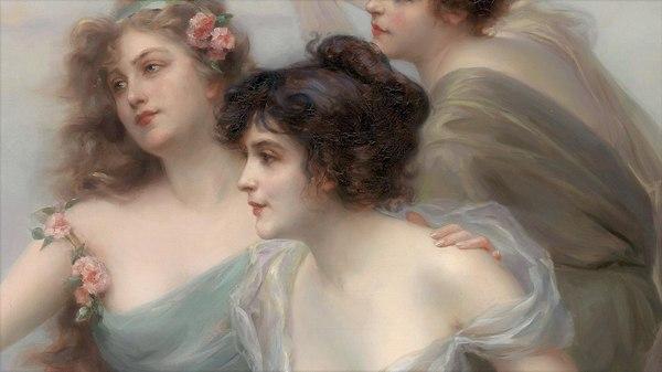 Edouard Debat-Ponsan Живопись, академическая живопись