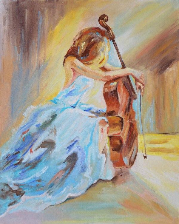 Муза... Художник, масло, картина маслом, муза, Живопись, арт, красивая девушка, творчество, длиннопост