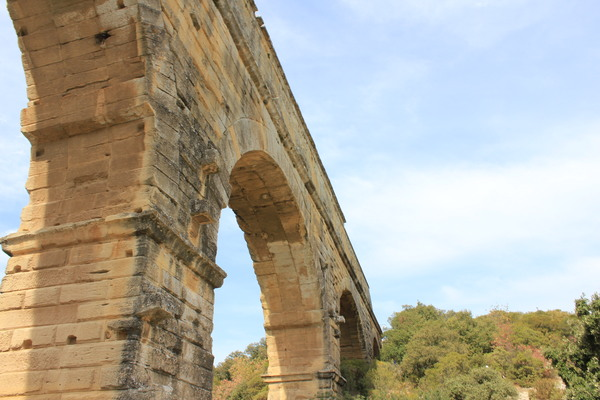 Pont du Gard #1 Pont du Gard, Франция, Фотография, Моё, Длиннопост