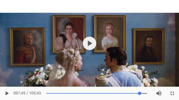 Русская княгиня стала матерью диснеевского принца Дисней, Фильмы, Живопись, плагиат, Наблюдение, американское кино, золушка