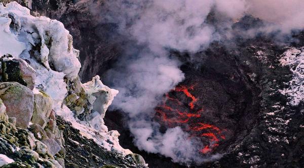 Ученые нашли в Антарктиде 91 новый вулкан вулкан, ученые, Антарктида, глобальное потепление, таяние  льдов, Sky News, интерфакс