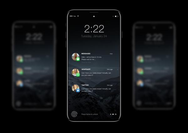 Качественные фотографии iPhone 8 попали в Сеть! apple, iphone 8, телефон, Новый айфон, новость, смартфон, айфон  7, Москва, длиннопост