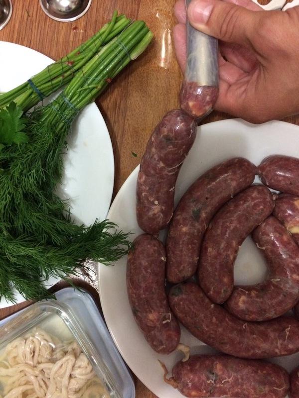 Домашние колбаски гриль готовим дома, колбаски гриль, мясо, длиннопост, рецепт