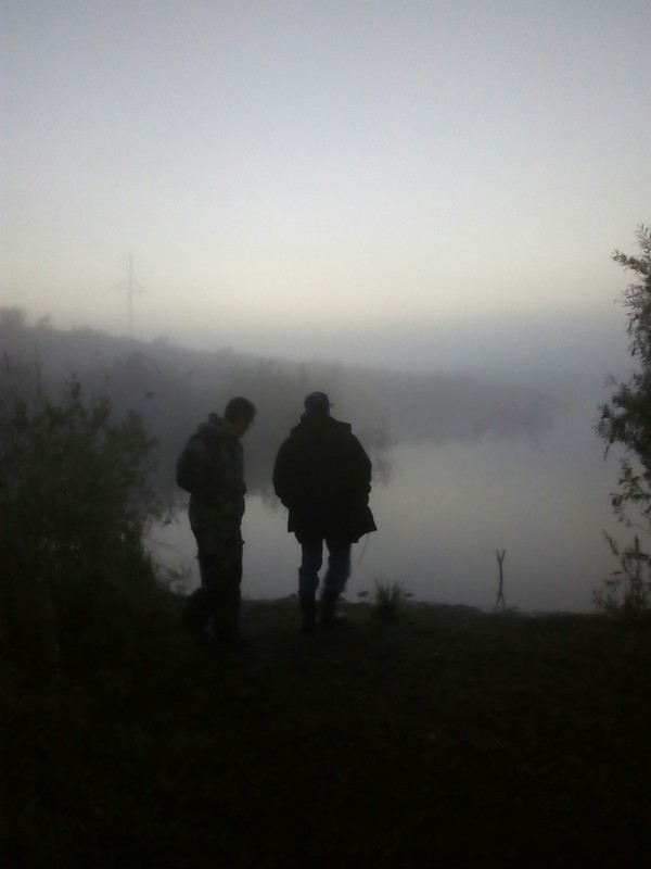 Рыбалка в 4 утра рыбалка, утро, длиннопост, Природа