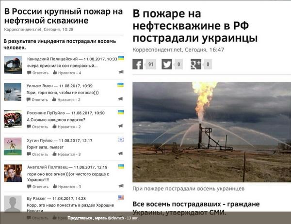 """Перезрада или """"добрые"""" украинцы Украина, Политика, пожар, Россия"""
