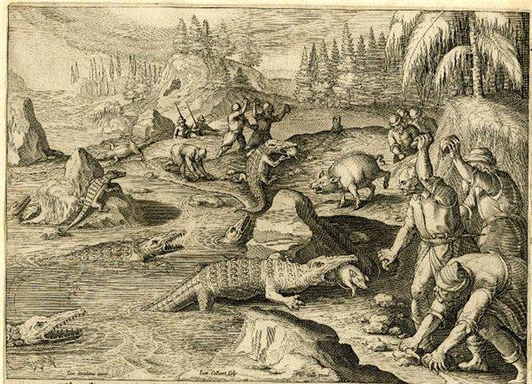 И ведь ловили! Крокодилов! На Волге! история, удивительное, крокодил, волга, ловля крокодилов, livejournal, длиннопост
