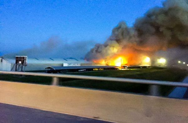 В Иллинойсе сгорело 150 ретромобилей ретроавтомобиль, пожар, иллинойс, длиннопост