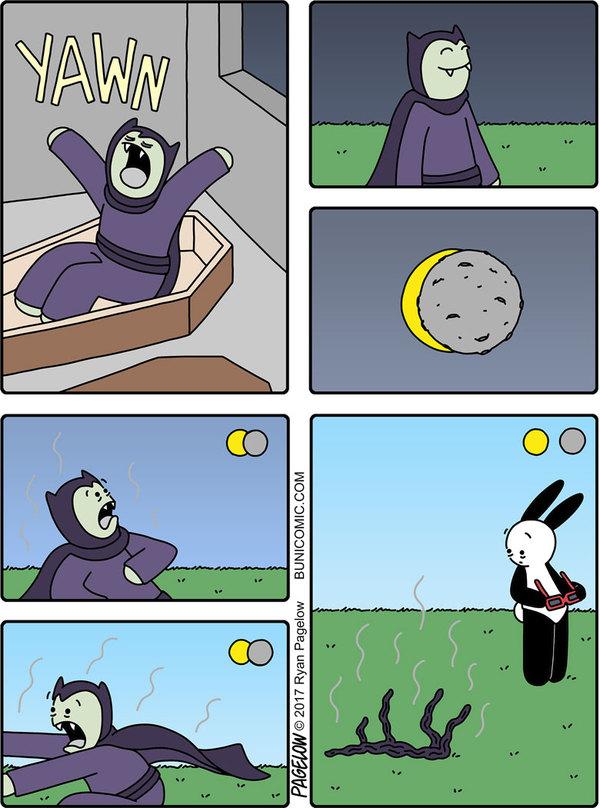 Затмение и вампир