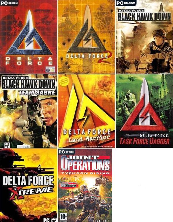 Delta Force Delta Force, Компьютерные игры, Шутер, Black Hawk Down, отряд дельта