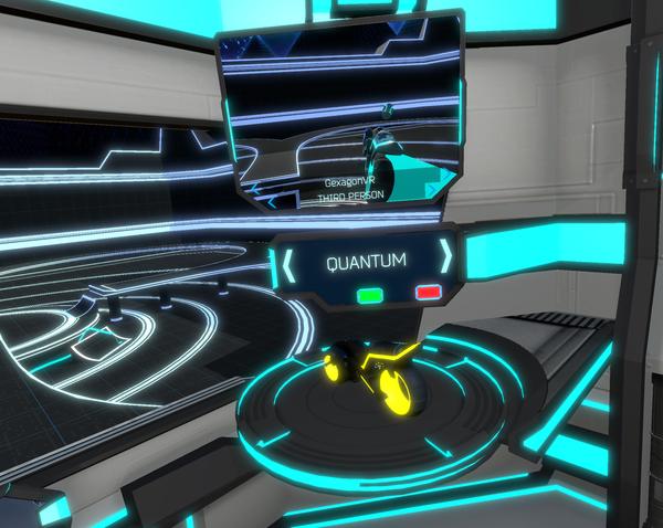 QBike Cyberpunk Motorcycles (VR) gamedev, Виртуальная реальность, виртуальный мир, qbike, gexagonvr, indiedev, steam, unity3d