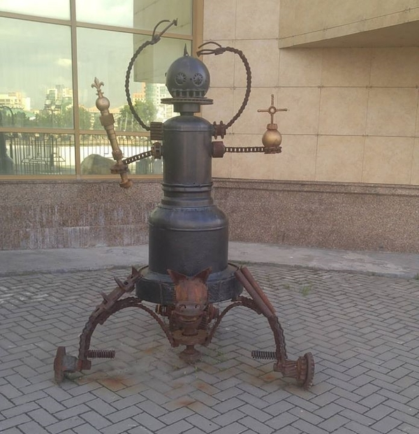 Православный робот - Правитель Челябинска