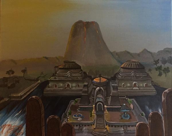 Vivec City by kdrmickey The Elder Scrolls, Morrowind, арт, DeviantArt