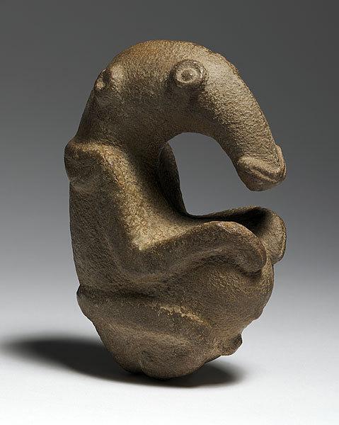 Древний предок Ждуна скульптура, ждун, Папуа-Новая Гвинея, древность