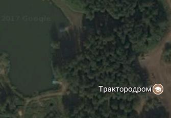 Признайся, ты ведь тоже прочитал не с первого раза... google maps, трактородром, или, траходром, озеро, отдых, Картинки