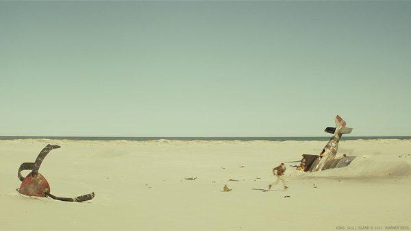 Спецэффекты фильма «Конг: Остров черепа» Фильмы, Конг: Остров черепа, спецэффекты, до и после vfx, гифка, длиннопост