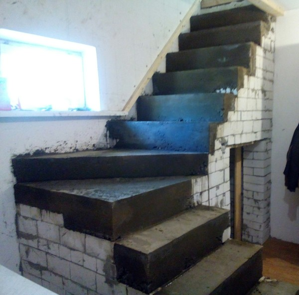 Как я сам сделал лестницу на второй этаж из подоконников)) лестница, сделай сам, длиннопост