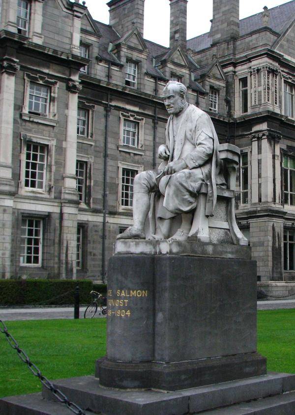 """""""Рукою я согласен, но сердцем - протестую!"""" Ирландия, Дублин, Тринити-колледж, Тонкий ирландский юмор, Памятник, скульптура, феминизм, ирландцы, длиннопост"""