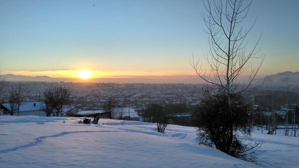 Мой город. Кыргызстан, пейзаж, фотография, ош, город, увлечение, длиннопост
