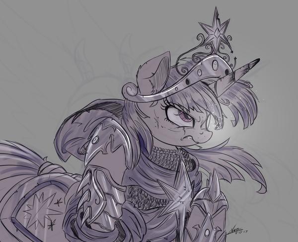 Villainous My Little Pony, ponyart, Twilight Sparkle, NCMares