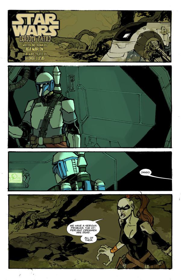 Настало время звшного комикса Star Wars, boba95fet, Комиксы, длиннопост